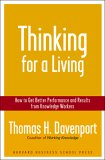 Thinking for a Living by Thomas H. Davenport