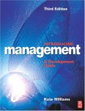 Introducing Management, 3Ed by Kate Williams