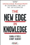 The New Edge in Knowledge by Carla ODell, Cindy Hubert